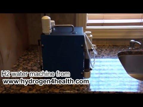 Hydrogen for health water machine.