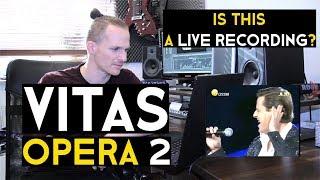 Vocal Coach reacts to Vitas - OPERA 2