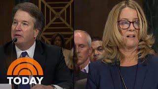 Brett Kavanaugh And Christine Blasey Ford Deliver Testimony In Senate Hearing | TODAY