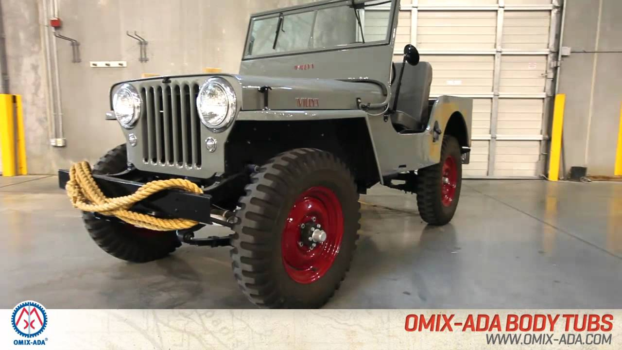Maintenance and Restoration Parts for your Jeep from Omix-ADA