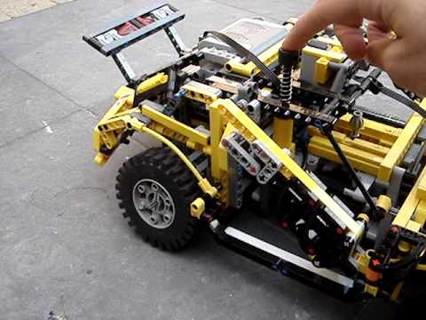 lego remote control car instructions