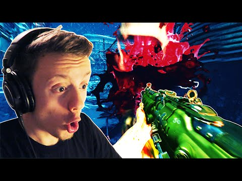 THE GIANT RISES! Call of Duty Black Ops 3 Zombies: THE GIANT First Room Challenge!