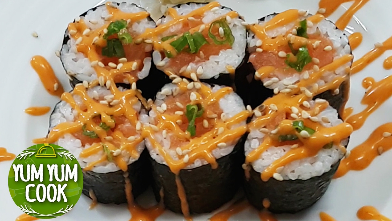 chili mayo sushi recept
