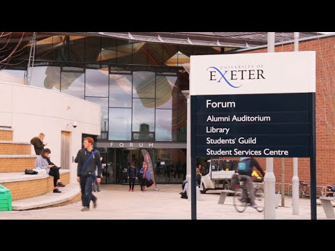 Student facilities at INTO University of Exeter