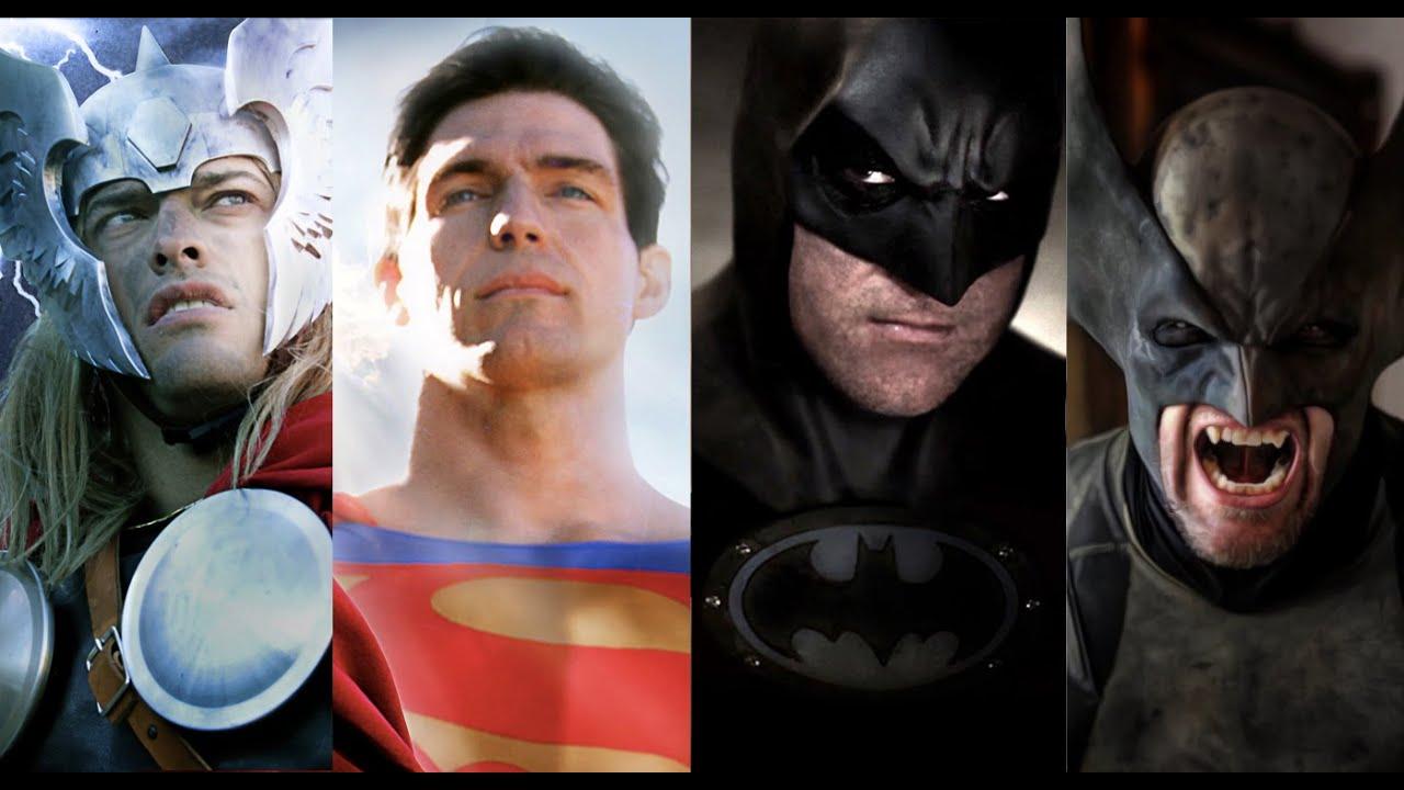 DC vs MARVEL BATTLES - Batman vs Wolverine Superman vs Thor