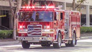 Glendale Fire Dept. Engine, BLS, & Truck 21