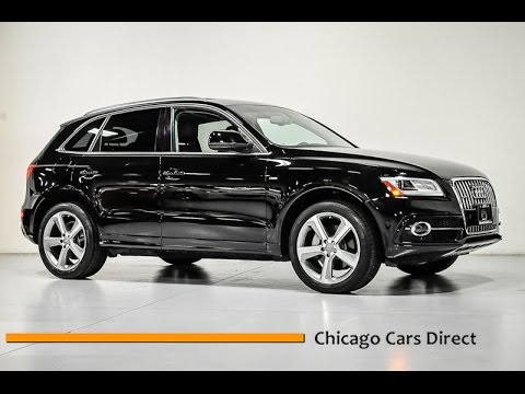 Chicago Cars Direct Reviews Presents A 2014 Audi Q5 3 0t Quattro S Line Premium Plus A006340