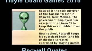 Hoyle Board Games 2010 - Roswell Quotes