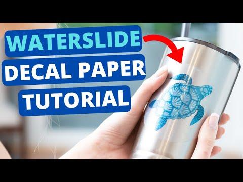 Waterslide Decal Paper Tutorial (BONUS Tips Included)