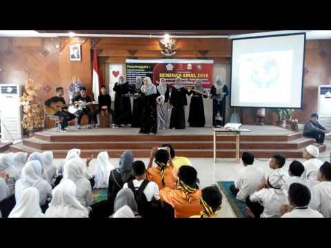 Musikalisasi Puisi, Seminar Amal 2016 @Kantor Wali Kota Lhokseumawe