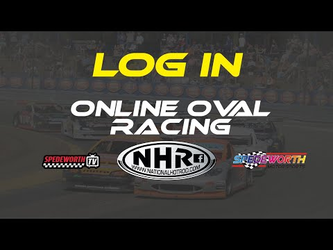 Logging In To Online Oval Racing