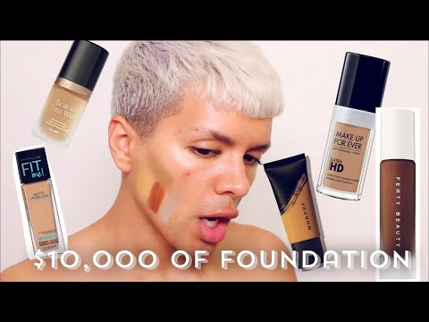 TESTING ALL THE FOUNDATIONS IN THE WORLD | Gabriel Zamora