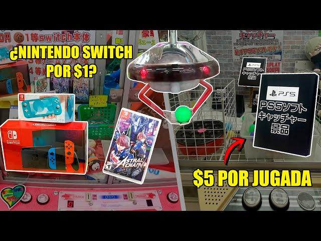 🔥 Juegos de PLAYSTATION 5 y  SWITCH en maquina de garra EN JAPON