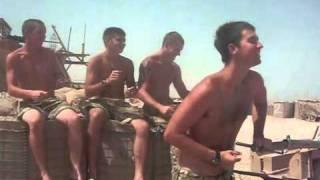 Royal Marine Commandos do 'Glee'