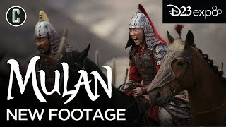 Mulan Live-Action Footage Review (D23 Expo 2019)