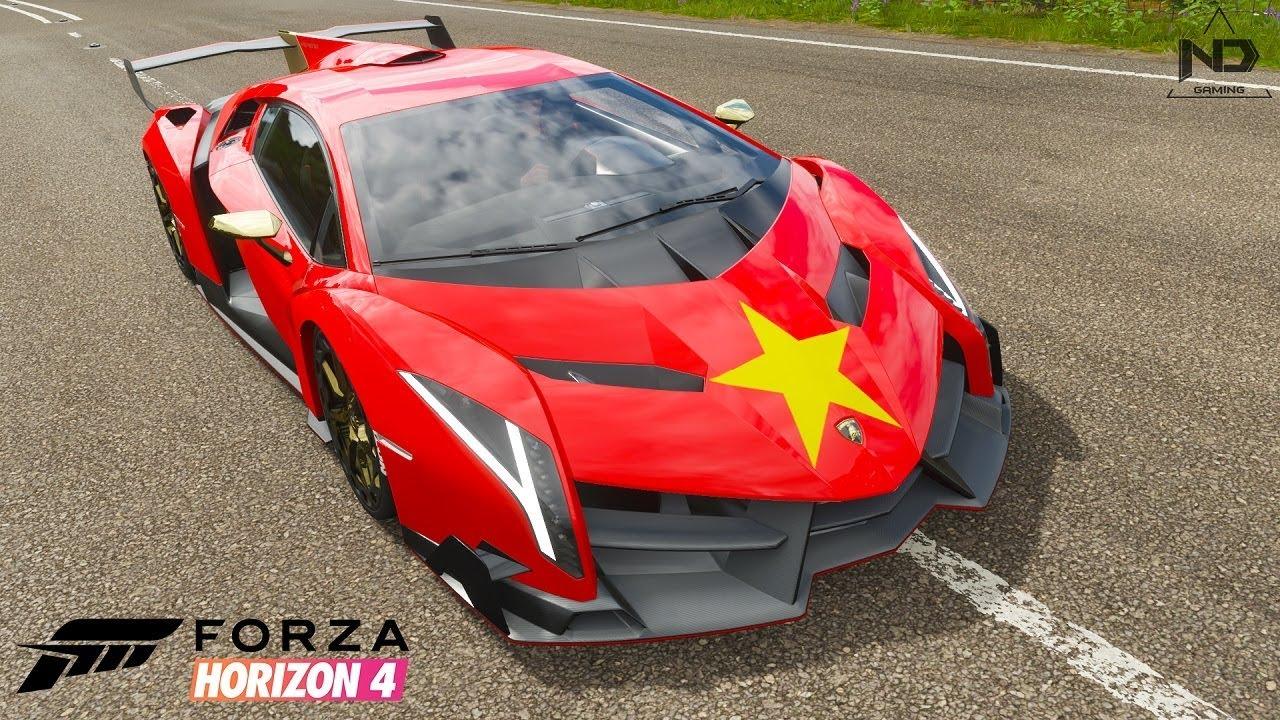 Forza Horizon 4 #9 – Trải nghiệm siêu xe Lamborghini Veneno | ND Gaming