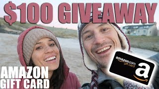 $100 GIVEAWAY Amazon Gift Card - CLOSED