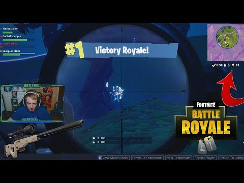 MY HIGHEST KILL FORTNITE BATTLE ROYALE WIN!