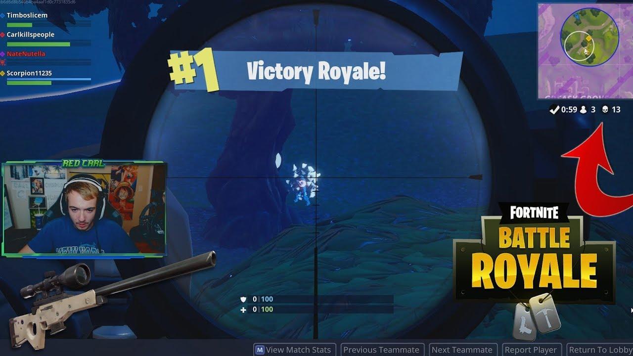 High Kill Fortnite Battle Royale Squads Win