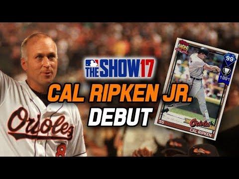 99 OVERALL CAL RIPKEN JR. DEBUT! THE IRON MAN! | MLB The Show 17 Diamond Dynasty Ranked Seasons