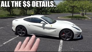 Buying A Ferrari F12 - What Did It Cost?  What Are My Payments? How Much Money Down?