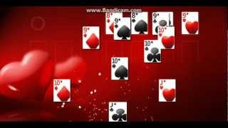 Windows 7 Solitaire Ending Cool Animation