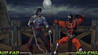 [TAS] Mortal Kombat Unchained - LIU KANG (PSP)