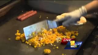 Woody's Taco Island Throws Down Caribbean Fried Rice, Woody Dog