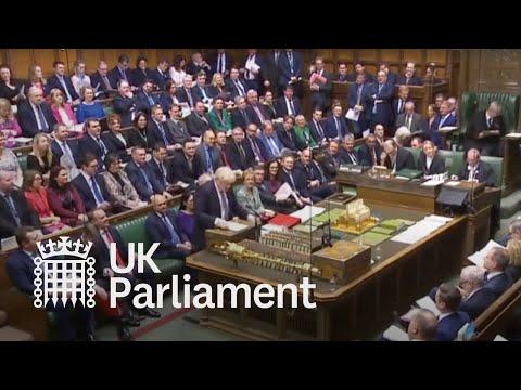 LIVE EU Withdrawal Agreement Bill: 20 December 2019