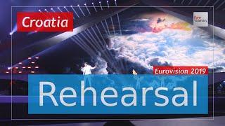 Roko - The Dream - Eurovision 2019 Croatia (Rehearsal)