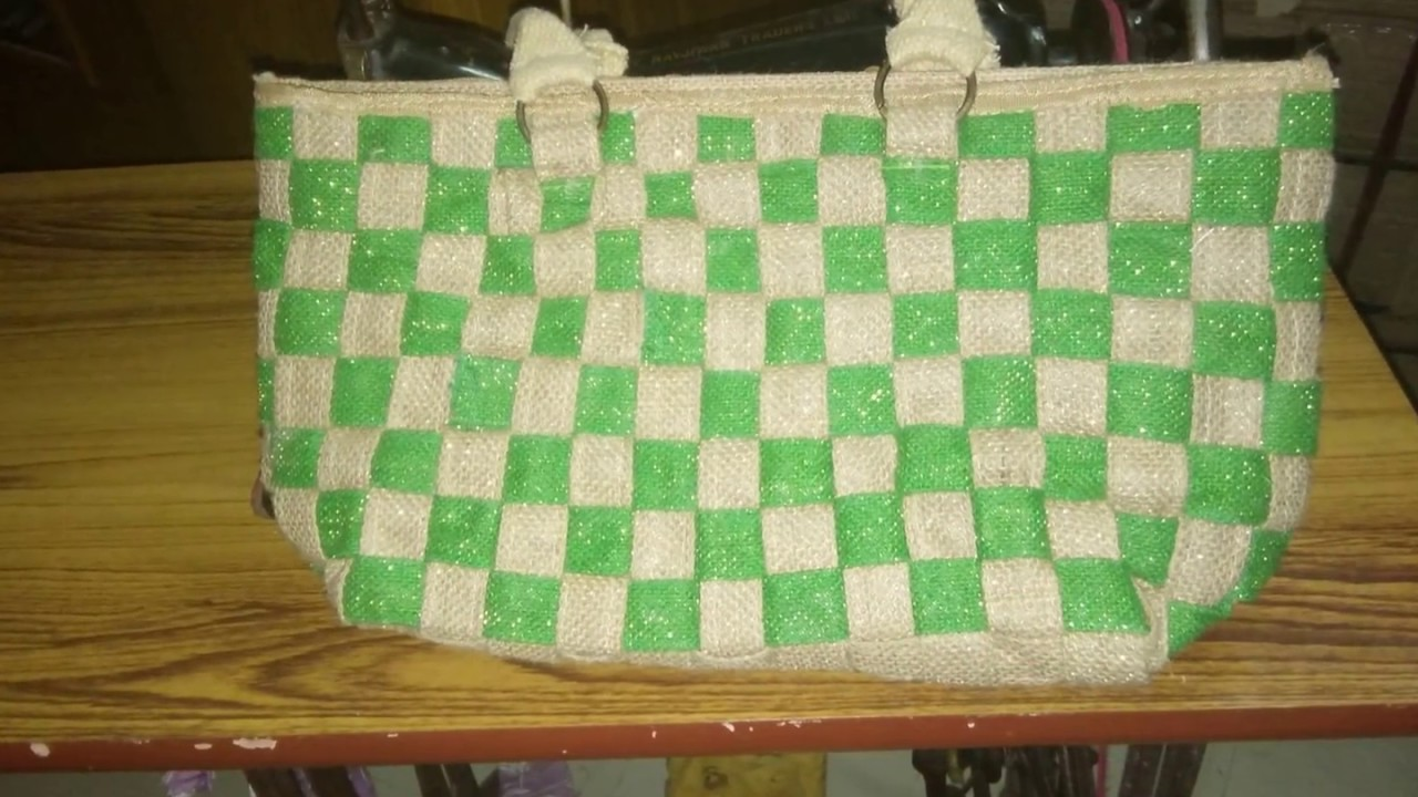 Jute Bag Design Ideas Your Own At Home Slideshow Youtube