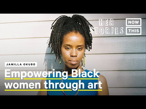 Jamilla Okubo Is Illustrating the Power of Black Women Though Art | Her Stories | NowThis