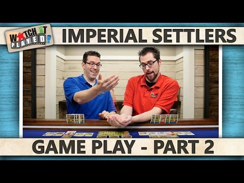 Imperial Settlers - Game Play 2