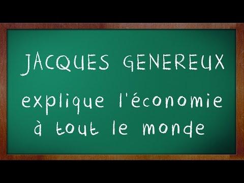 """Teaser: Conférence """"Jacques Généreux explique l'économie à tout le monde"""""""