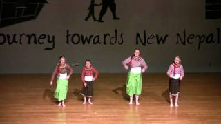 Mai chori sundari kashari bharu pani  ,A Dance performance by American Kids !