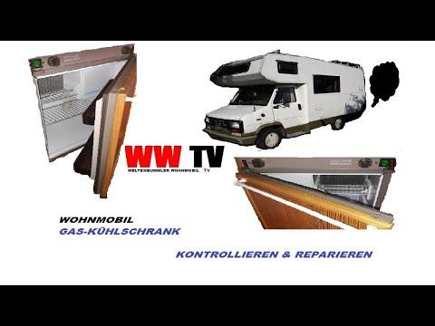 Wohnmobil Kühlschrank defekt, Globetrotter TV - YouTube