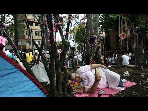 """Colombie: pour combattre le stress, un """"jour de la paresse"""""""