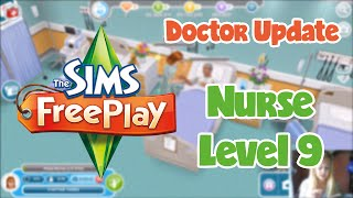 The Sims Freeplay Doctor Update: Nurse Level 9
