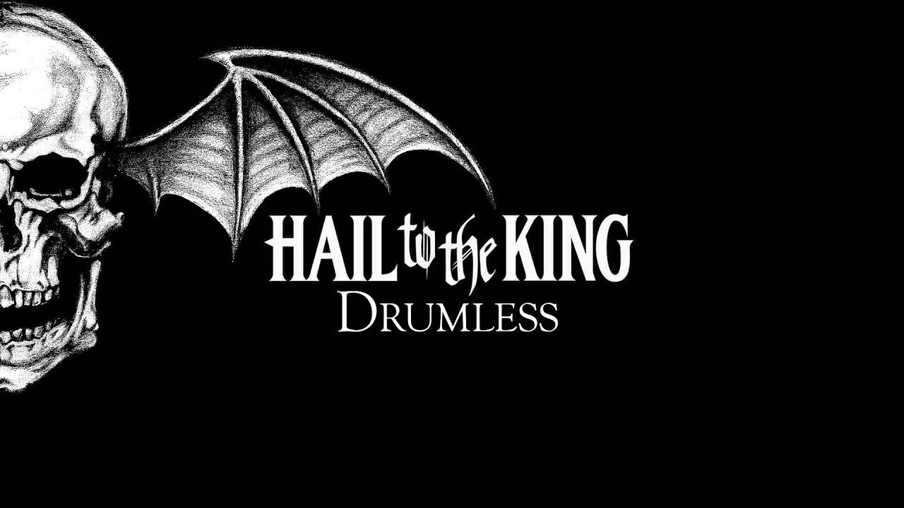 Avenged sevenfold hail to the king drumless youtube voltagebd Image collections