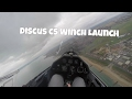 Discus CS Winch Launch