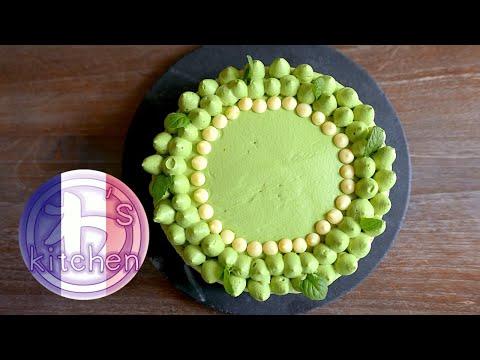 gâteau-au-thé-vert- -matcha- -recette-japonaise- -wa's-kitchen