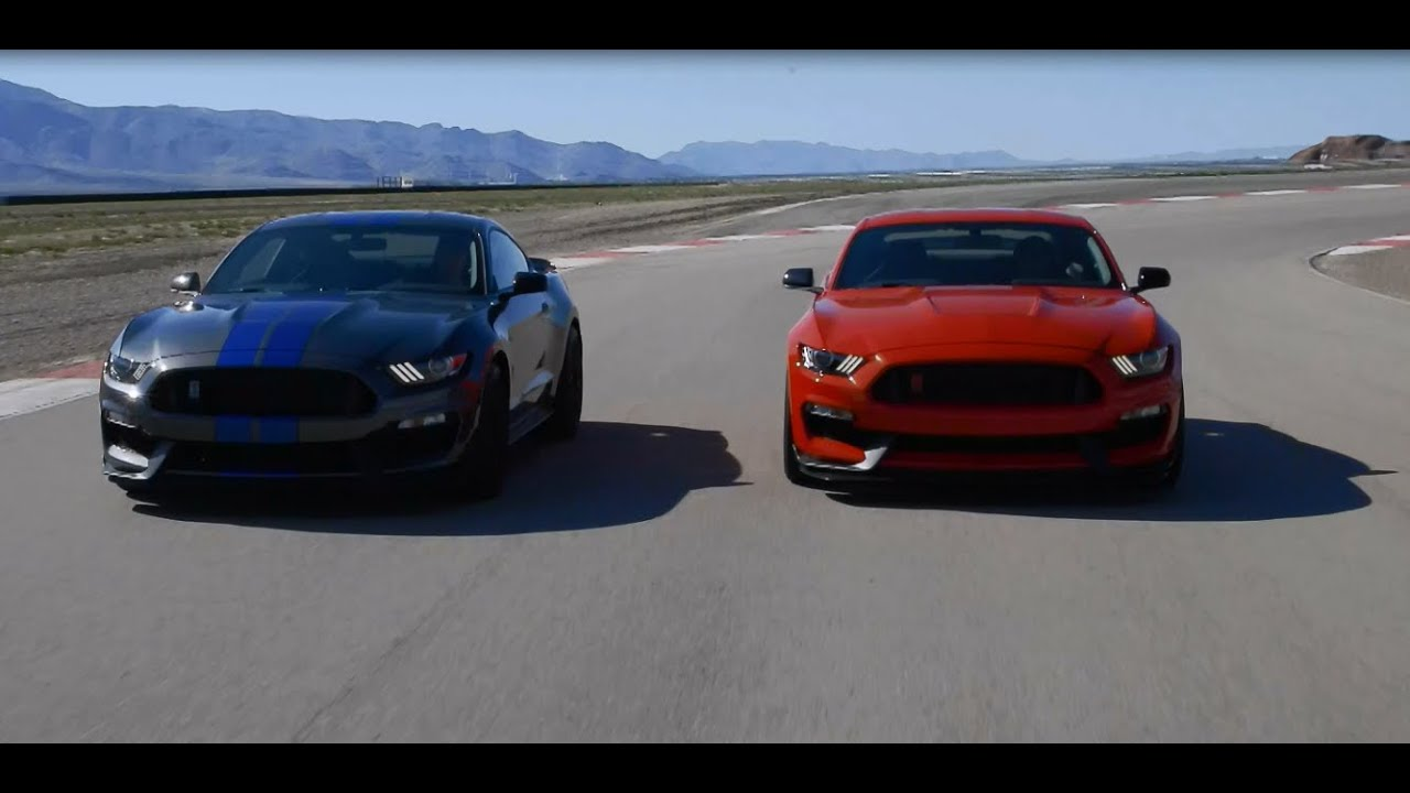 2015 shelby gt350 and gt350r track video