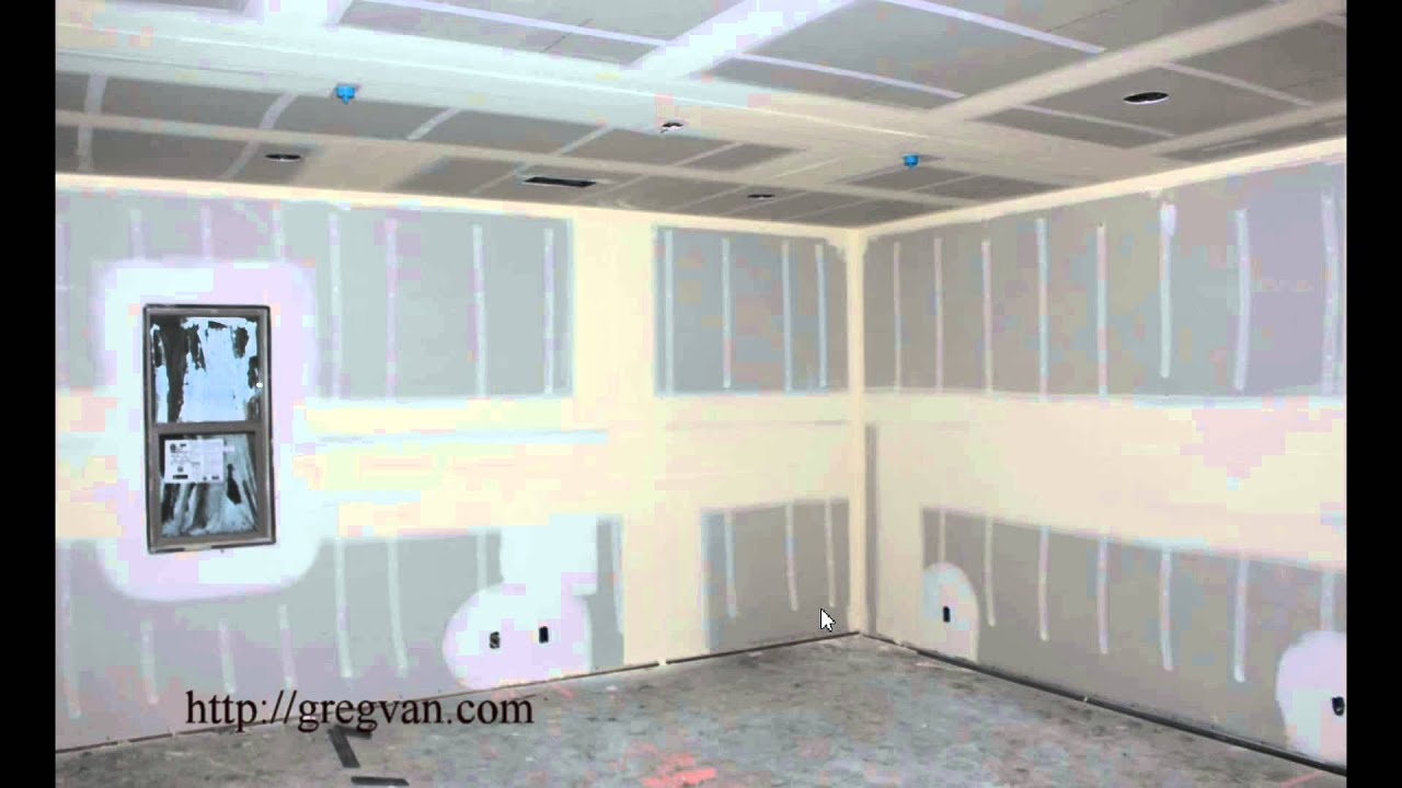 Why Do They Install A Middle Section Of Drywall In Walls Taller Than 8  Foot?   YouTube