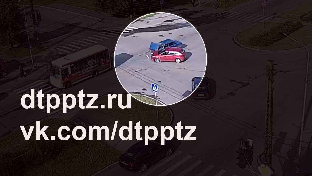 ДТП с трамваем на Проспекте Мира 13 мая 2016 года