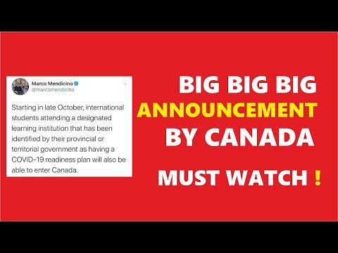 Big Big Update Canada Visa