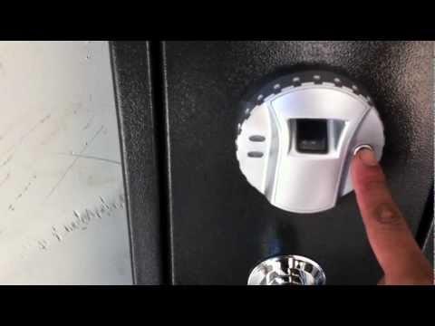 Barska Quick Access Biometric Rifle Safe