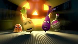 Прикольный мультик «Овощная вечеринка» - Хэллоуин (8 серия)