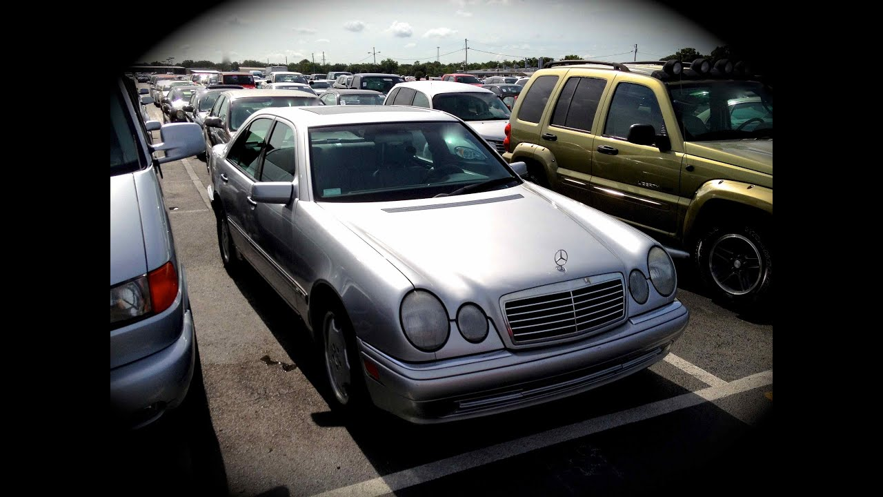 1997 mercedes benz e420 w210 start up quick tour rev