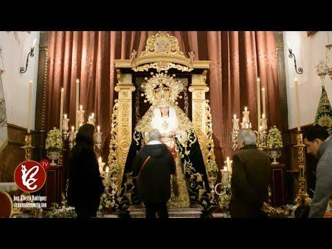 Besamanos de la Virgen de Gracia y Esperanza - Sevilla 2017