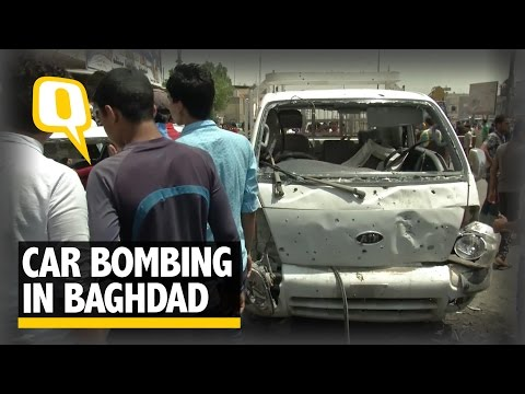The Quint: ISIS Claims Responsibility For Ghastly Car Bomb Blast In Baghdad